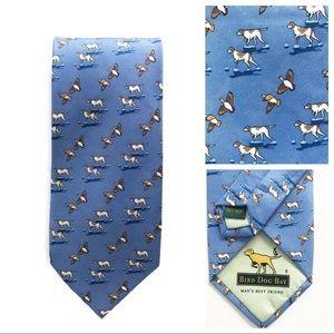 Bird Dog Bay Pointer with Waterfowl Tie